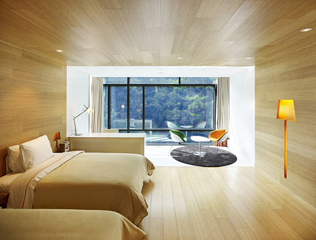 Walkerhill Hotel Acadia in Seoul, South Korea by Haeahn Architecture; Photo: Kim Yongkwan