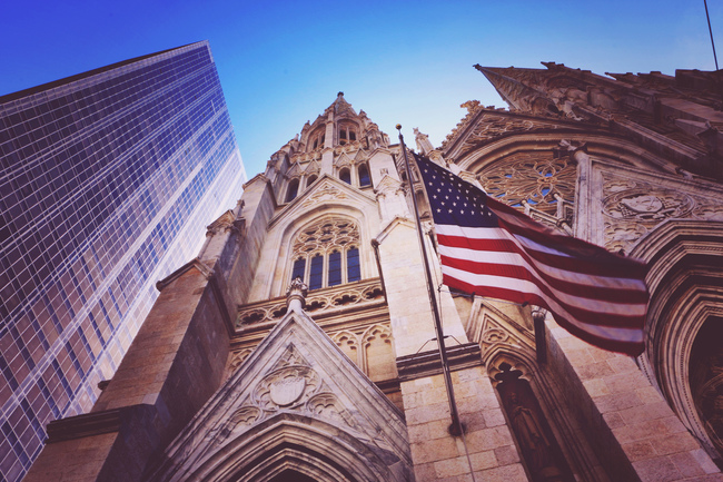 "St. Patrick's Cathedral, New York. Photo: Daniel Cruz Valle/<a href=""https://www.flickr.com/photos/dakone2k/26732451120""target=""_blank"">Flickr</a>."