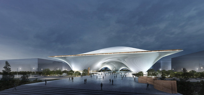 Entry for the National Art Museum of China in Beijing by MAD (Image: MAD)