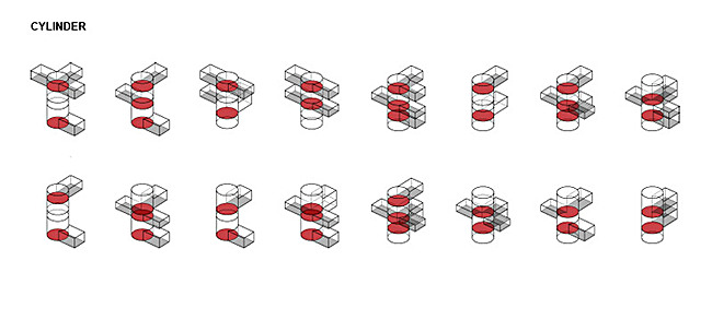 Axonometric diagrams (Image: PRAUD)