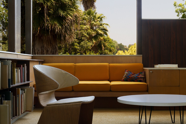 "Head over to the Neutra VDL House for a book reading + signing of Aris Janigian's ""Waiting for Lipchitz at Chateau Marmont"" this Saturday. Photo credit: Neutra VDL House."