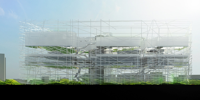 Rendering (Image courtesy of Oxo architects + Nicolas Laisné architecte urbaniste)