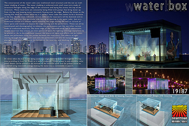 3rd Place: THE WATERBOX