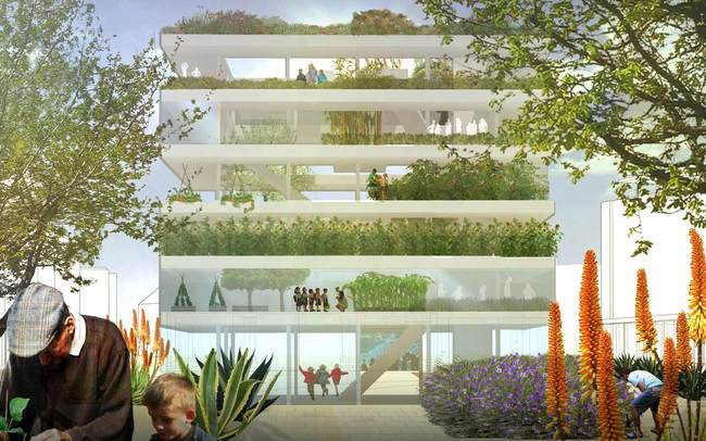 Royal Adelaide Hospital Design Competition winning entries | Gallery ...