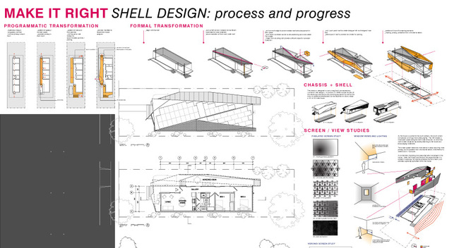 The Float House, Shell Design