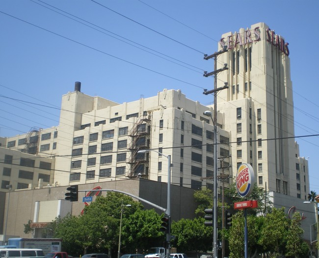 The historic Sears Roebuck Mail Order Building is a well-known Boyle Heights landmark. Image via wikimedia.org