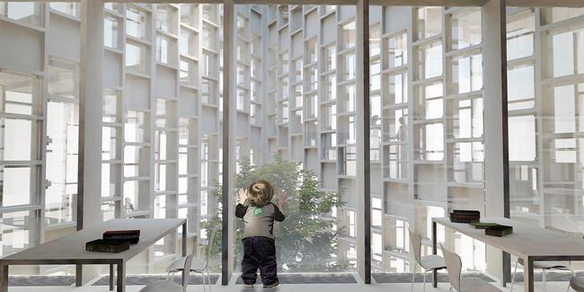 Courtyard (Image: studio SH)