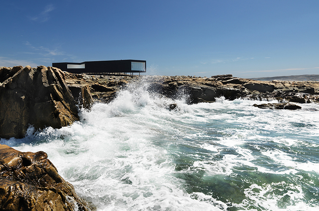"Still from ""Strange and Familiar: Architecture on Fogo Island"". Image via adfilmfest.com"