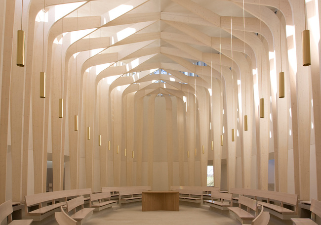Bishop Edward King Chapel, Oxfordshire by Niall McLaughlin Architects