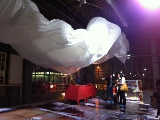 installation at University of Michigan Taubmann College, Liberty Lofts via hsolie
