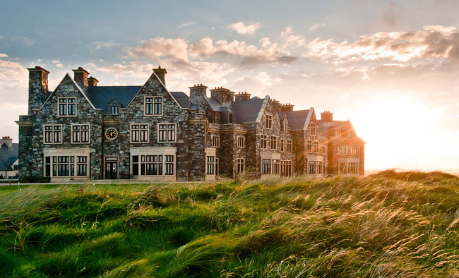The Trump Doonbeg in Ireland. Credit: Trump Hotels