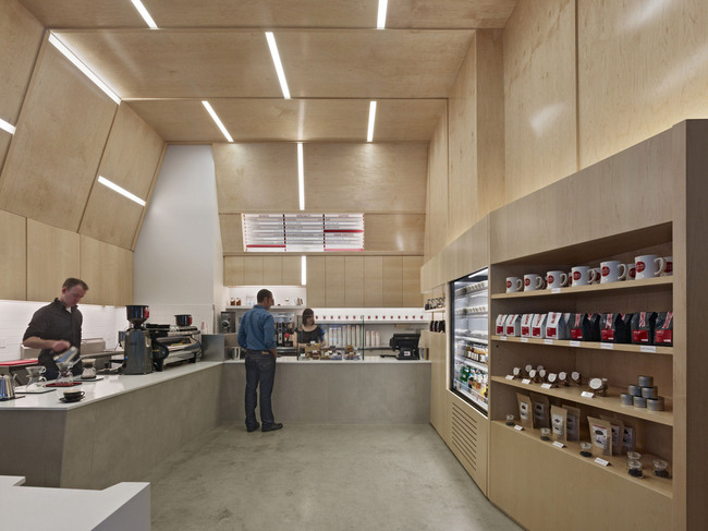 Coffee Bar Montgomery Street in San Francisco, CA by jones | haydu