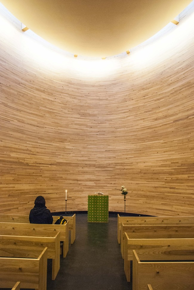 Chapel of Silence in Kamppi