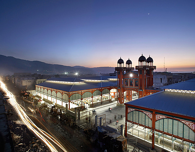 Iron Market in Port-au-Prince, Haiti (Photo: Hufton & Crow)