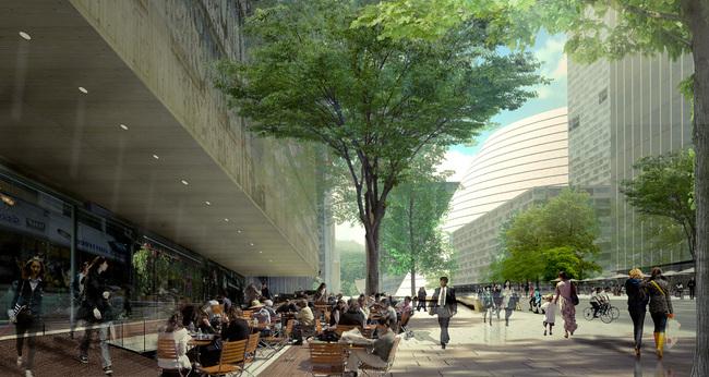 Retail corridor, © OMA