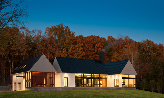 Becherer House; Charlottesville, VA by Robert M. Gurney, FAIA (Photo: Mackenzie)