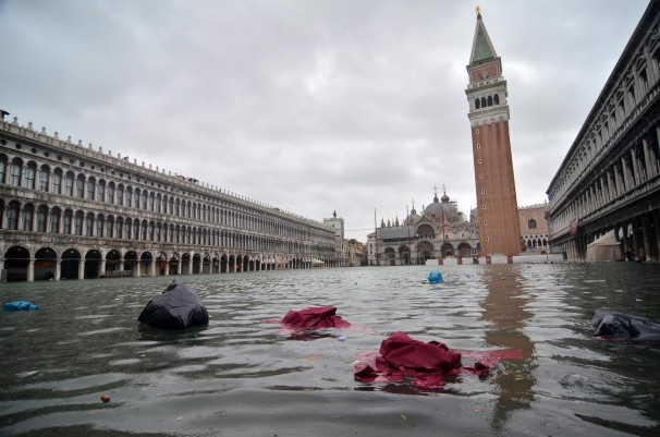 Unesco has shown it intends to call the Italian government to account and put Venice on its World Heritage at Risk list over the growing environmental threat to the historic city and its evident mismanagement. (The Art Newspaper; Photo: Andrea Merola/EPA)
