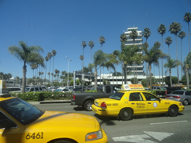 Los Angeles is a notoriously difficult city to hail a cab. Credit: Wikipedia
