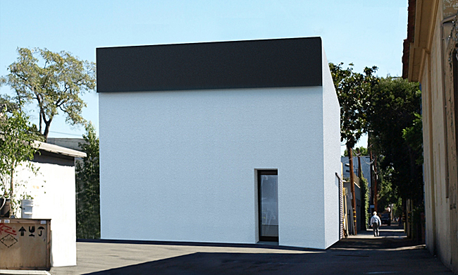 Rendering of the future Matthew Marks Gallery in West Hollywood, CA
