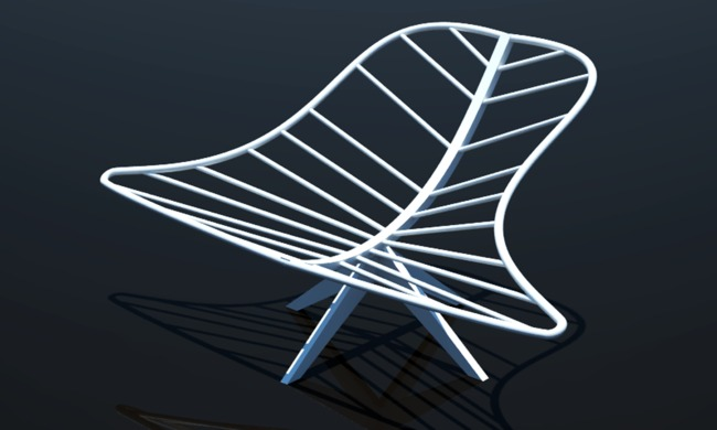 CATIA Leaf Chair - Kimberly V.K.H. Nguyen