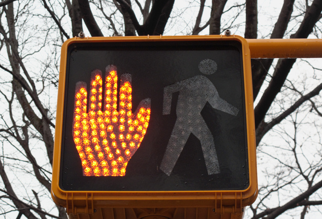 Pedestrian signals will be retimed as part of a new initiative to make LA streets safer for pedestrians. Via: Wikipedia