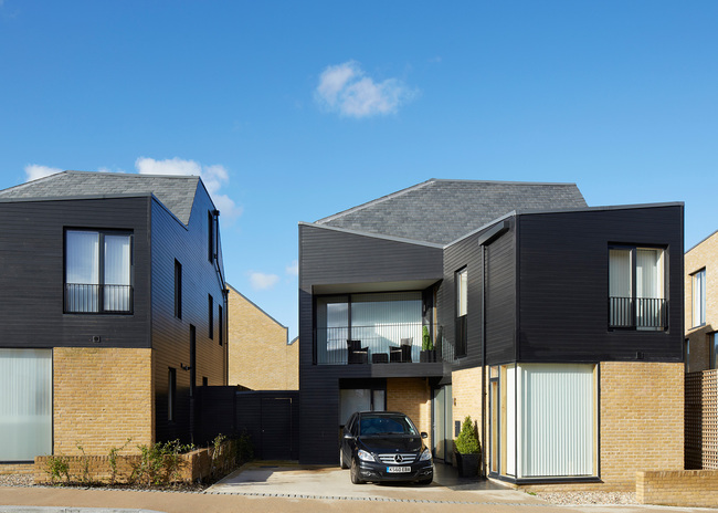 Newhall Be, Harlow by Alison Brooks Architects; Photo: Paul Riddle