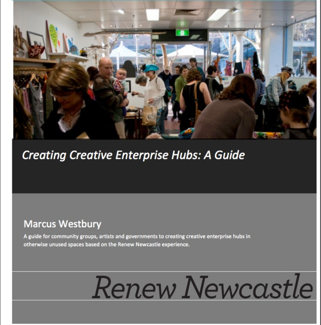 via http://emptyspaces.culturemap.org.au/sites/all/files/Creating%20Creative%20Enterprise%20Hubs.pdf
