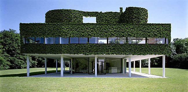 O mighty green gallery archinect for Poissy le corbusier