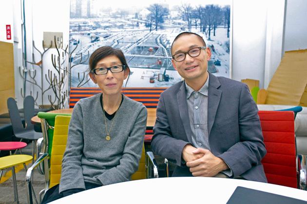 Kazuyo Sejima mentor and Yang Zhao protégé. Tokyo, Japan, 2012 (Photo: Rolex/Hideki Shiozawa)