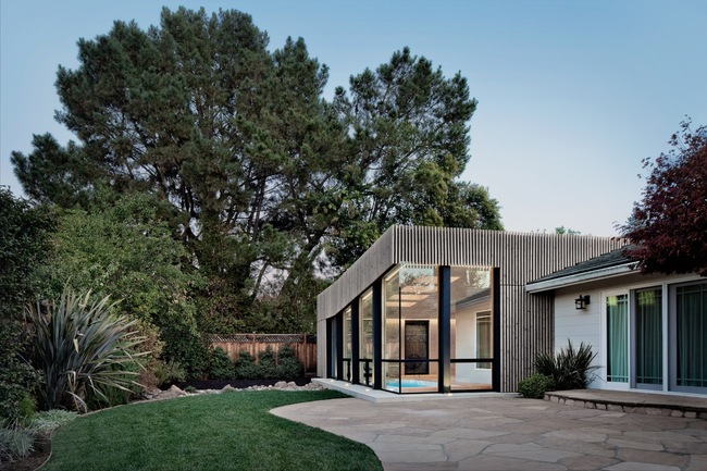 Suburban Extension by Frame Studio.