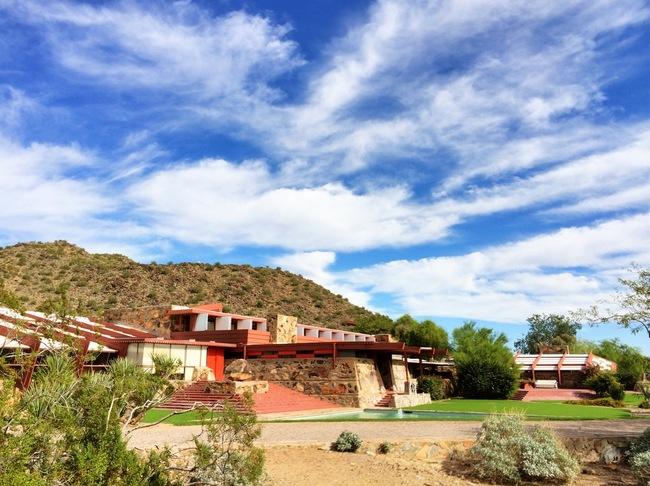 Taliesin West in Scottsdale, AZ. Photo by Jason Silverman.