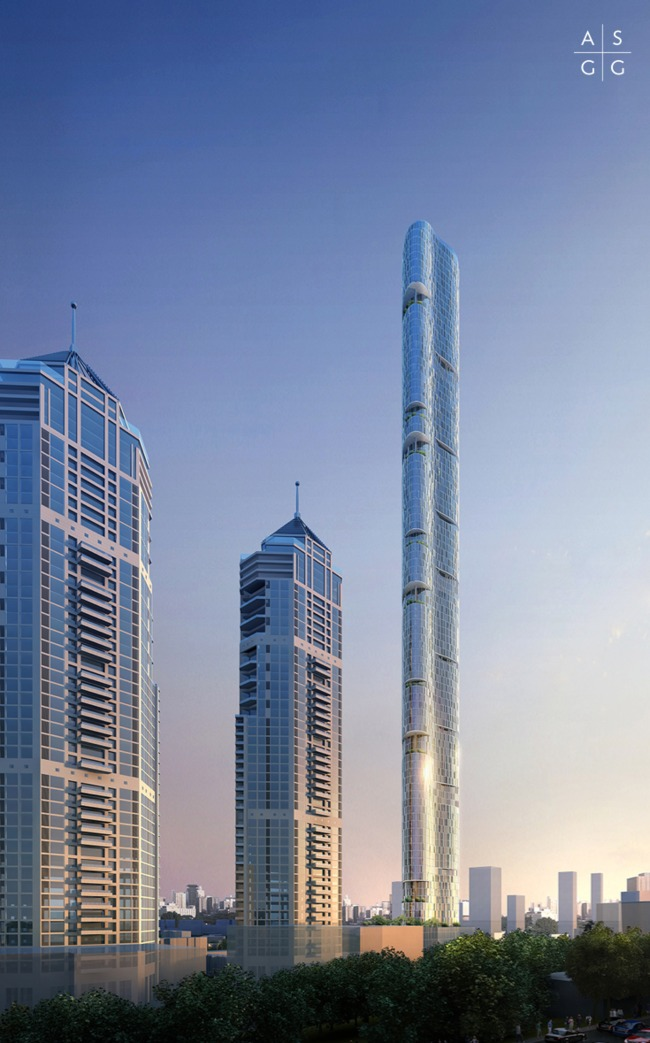 Mumbai 39 S Tallest Skyscraper Designed To Confuse The Wind: wind architecture