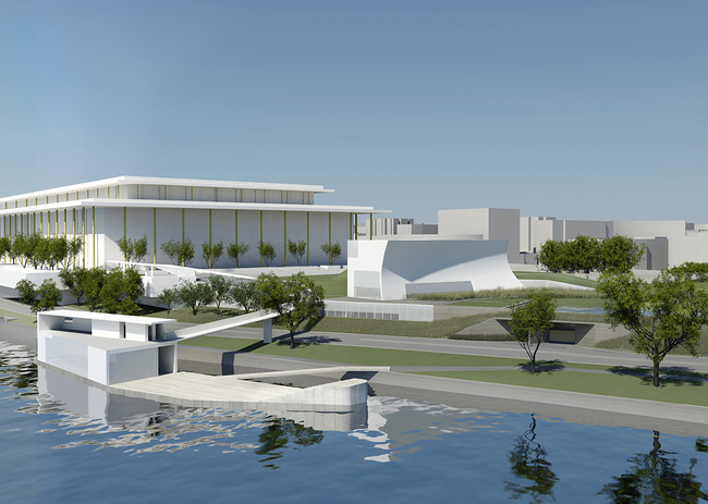 Image courtesy of Steven Holl Architects.