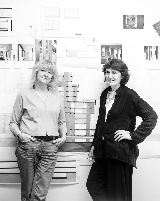 Yvonne Farrell and Shelley McNamara of Grafton Architects.