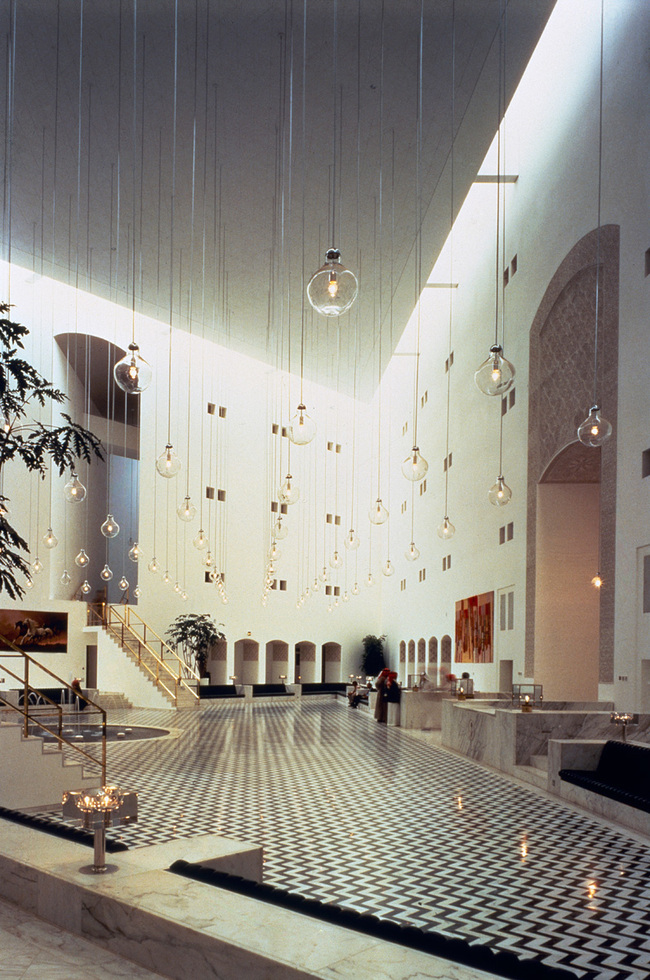 Ministry of Foreign Affairs in Riyadh (Saudi Arabia, 1984)