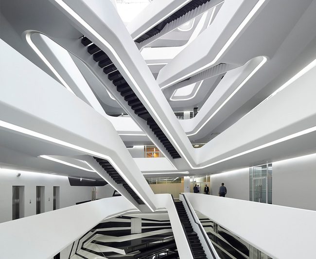 2016 Blueprint Awards, Best Non-Public Project - Commercial Winner: Zaha Hadid Architects, UK - Dominion Office Building, Moscow, Russia.