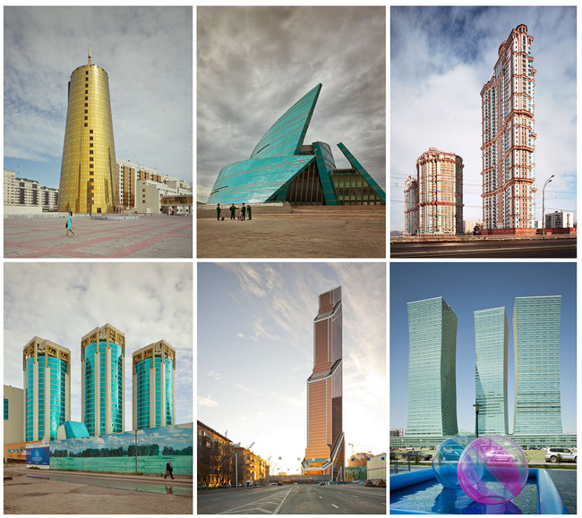 Frank Herfort photos of post-Soviet architecture