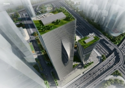 BIG's winning design for the Shenzhen International Energy Mansion