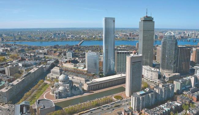 Image: Pei Cobb Freed/ Cambridge Seven Associates, via bostonglobe.com