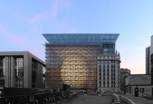 © : Philippe SAMYN and PARTNERS architects & engineers, LEAD and DESIGN PARTNER. Philippe Samyn and Partners architects & engineers, Studio Valle Progettazioni architects, Buro Happold Limited engineers.