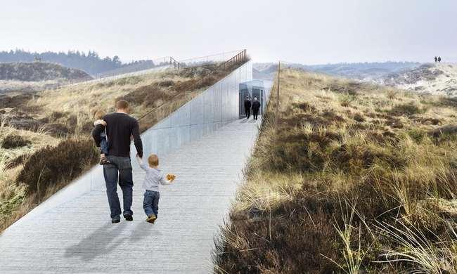 Bjarke Ingels' Tirpitz bunker hill museum in Denmark to open on June 30