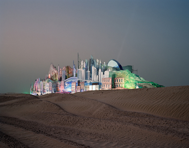 Florian Joy, Bawadi, 2006. Courtesy of the MoCP. From the 2015 Graham Foundation Organizational Grant to Columbia College Chicago-Museum of Contemporary Photography for the exhibition Grace of Intention: Photography, Architecture and the Monument.