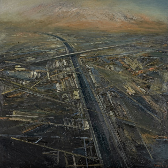 LA River/Grid Series by Victor Hugo Zayas. Image via boomcalifornia.com.