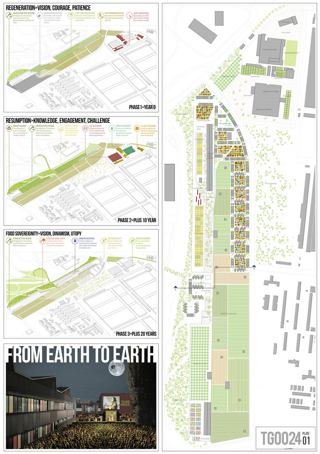 2nd Place: FROM EARTH TO EARTH; Stefano Scavino, Marilia Ferreira Alves, Erika Kawas Nunes, Stefania Manzo