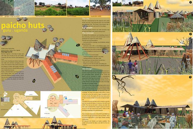 Founders' Award - Paicho Huts, near Gulu, Uganda