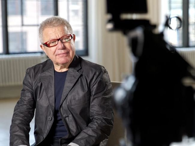 Assuming a month-long editorship for CNN Style: architect Daniel Libeskind. (Image via CNN)