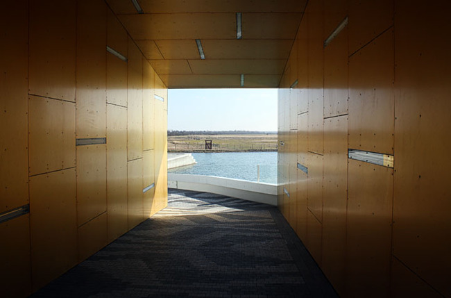 Underpass through Bjarke Ingalls (BIG) 8 House