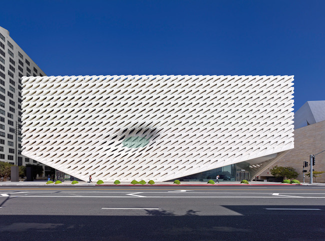 The Broad Museum designed by Diller Scofidio + Renfro and Gensler.
