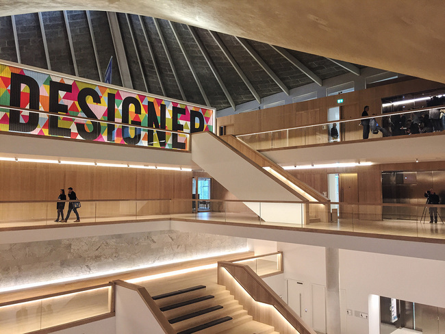 The new Design Museum London. Image: Ellen Hancock