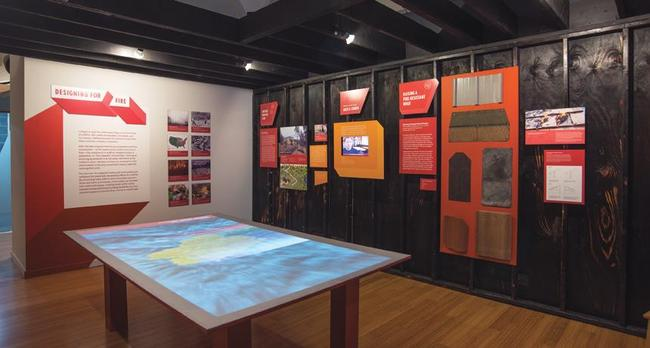 "The exhibit ""Designing for Disaster"" is currently the National Building Museum in Washington, D.C. via: ScienceDaily credit: Allan Sprecher, courtesy of the National Building Museum"